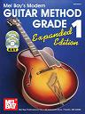 Mel Bay: Modern Guitar Method Grade 1, Expanded Edition Perfect-Bound Book/CD/DVD Set