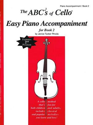 ABC's of Cello Piano Accompaniment for Book 2