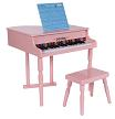 Baby Grand Piano: Pink