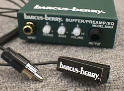 Barcus-Berry Woodwind/Brass Mic/Preamp System