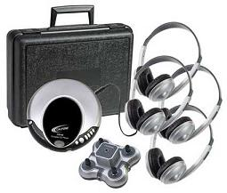Califone 4-Person Portable CD Learning Center