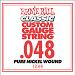 Ernie Ball Guitar Strings: Classic Pure Nickel Six-Pack -48 1248