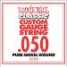 Ernie Ball Guitar Strings: Classic Pure Nickel Six-Pack -50 1250