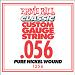 Ernie Ball Guitar Strings: Classic Pure Nickel Six-Pack -56 1256