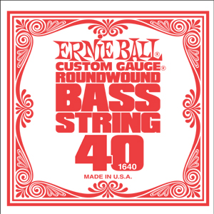 Ernie Ball .040 Nickel Wound Bass 1640