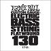 Ernie Ball Guitar String: Flatwound Electric Bass- 130 1713