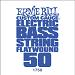 Ernie Ball Guitar String: Flatwound Electric Bass- 50 1750