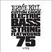 Ernie Ball Guitar String: Flatwound Electric Bass- 75 1775