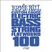 Ernie Ball Guitar String: Flatwound Electric Bass- 100 1797