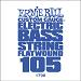 Ernie Ball Guitar String: Flatwound Electric Bass- 105 1798