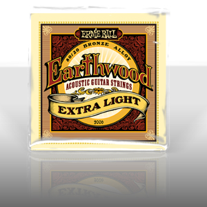 Earthwood Extra Light .010 - .050 Acoustic 80/20 Bronze 2006