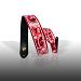 Ernie Ball Guitar Straps: Inked Strap Red Paisley 4020