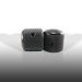 Ernie Ball: Telecaster Knobs Black Aluminum Set of 2 6355