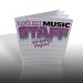 Ernie Ball: Music Staff Writing Paper 7019