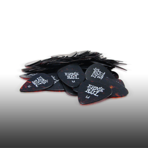 Ernie Ball Medium Shell Picks Box of 144 Cellulose Acetate Nitrate 9112