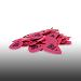 Ernie Ball Medium Pink Picks Box of 144 Cellulose Acetate Nitrate 9115