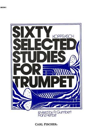 60 Selected Studies for Trumpet Book I