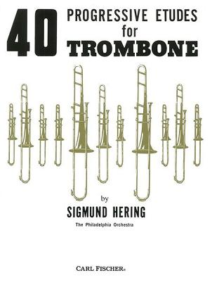 40 Progressive Etudes for Trombone