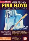 Mel Bay: Learn to Play Pink Floyd Guitar Techniques DVD