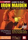 Mel Bay: Learn to Play Iron Maiden Guitar Techniques DVD