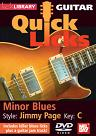 Mel Bay: Quick Licks for Guitar - Jimmy Page DVD