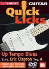 Mel Bay: Quick Licks Guitar: Eric Clapton DVD