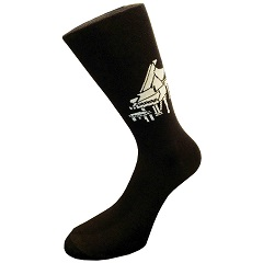Grand Piano Music Socks-FREE SHIPPING!!